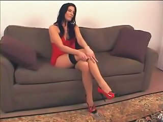 Amazing Legs MILF Smoking