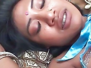Indian Piercing Teen