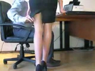 Office Secretary Voyeur