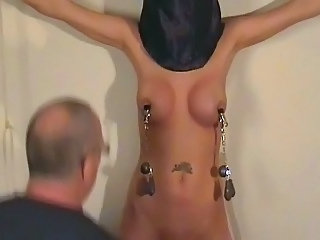 Bondage Bus Nipples Slave