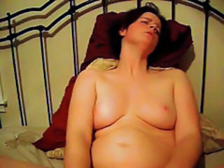 Amateur Chubby Homemade Masturbating MILF Wife