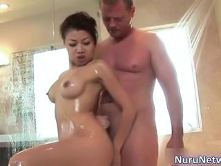 Asian Babe Extreme Interracial Showers