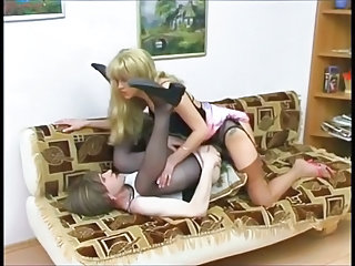Strapon Sister Fucks Not Her Sissy Brother Sex Tubes