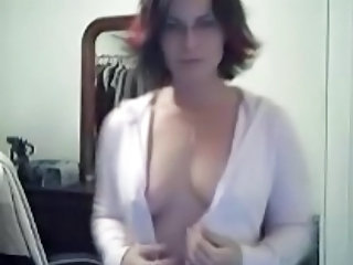 Ochelari MILF Striper Camera Web Nevasta