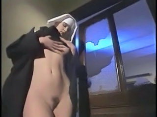 Babe Nun Stripper Teen Uniform Vintage