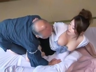 Asian Daddy Japanese MILF Old and Young Wife