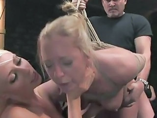 Bondage Doggystyle Hardcore Interracial Threesome