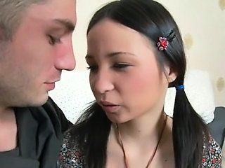 European Pigtail Teen