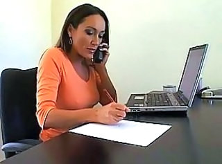Amazing Cute Mature MILF Office Secretary