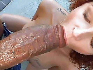 Big cock Blowjob Interracial MILF Pov Tattoo