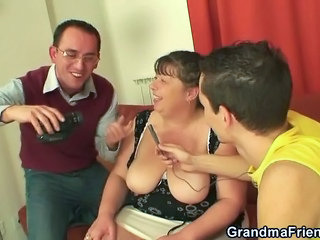 Mature Threesome Toy