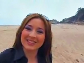Amateur Beach Outdoor Pov Public Teen