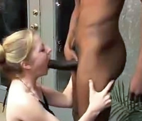 Amateur Big cock Blowjob Cuckold Interracial MILF Wife
