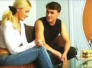 Blonde Jeans Russian Teen