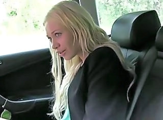 Blonde Car Russian Teen