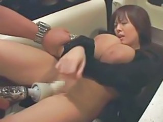Asian Big Tits Japanese MILF Natural Shaved Toy