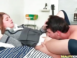 Clothed Licking Teen