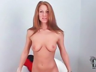 Young amateur redhead has a perfect body tubes