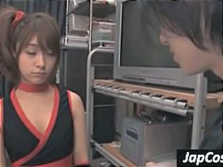 Asian Cheerleader Japanese Pigtail Teen