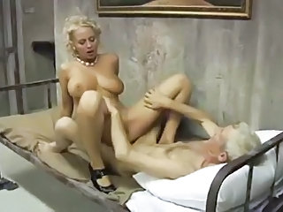 Big Tits Man MILF Natural Pornstar Riding Vintage