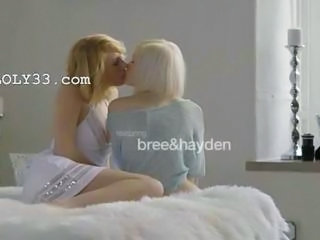 "Swedish fairhair lesbians make true love"" class=""th-mov"