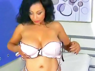 Big Tits Lingerie Mature Stripper