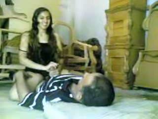 Arab Homemade Riding Teen