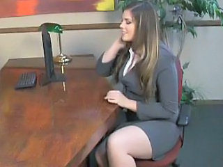 Hairy MILF Office Secretary