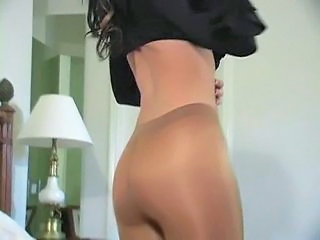 Ass Panty Pantyhose Stripper