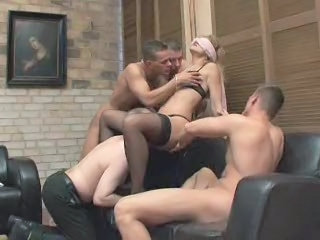 Gangbang Celebration For A Fine Lady 2
