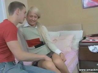 Blonde Long hair Sister Teen