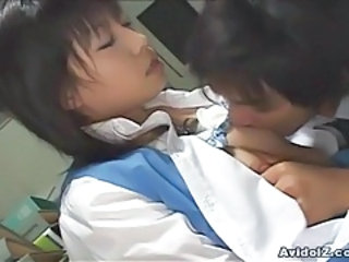 Asian Japanese Nipples Office Secretary