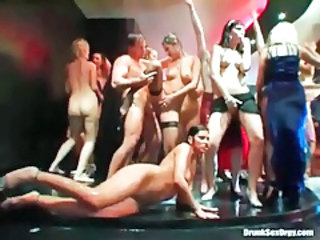 Dancing Groupsex Orgy Party