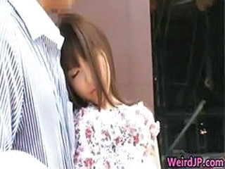 Asian Bus Cute Japanese Teen