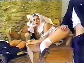 Groupsex Hardcore Nun Teen Uniform
