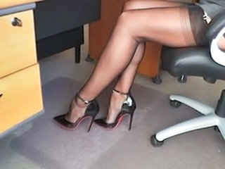 Legs Secretary Stockings