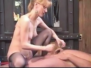 Grown up Amateur Milf Dominatrix Anal Strapon Toys