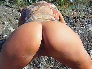 Amateur Ass Outdoor Squirt