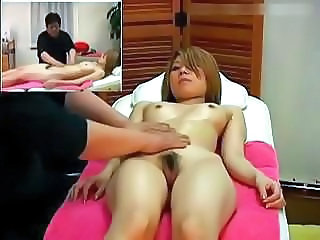 Asian  Massage Oiled Voyeur