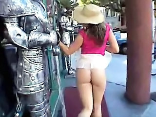 Amateur Ass Outdoor Public Upskirt