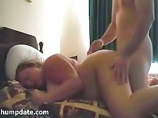 Great amateur porn flick with screaming chubby beauty and big dick