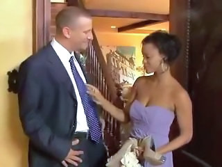 Bride Ebony Interracial MILF