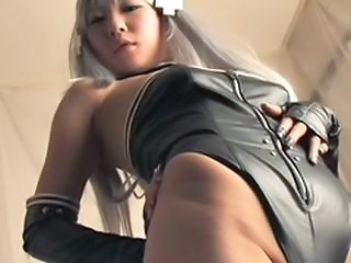 Incredibil Asiatic Fetish Japoneza Latex Adolescenta