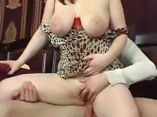 Big Tits Chubby MILF Natural Riding SaggyTits