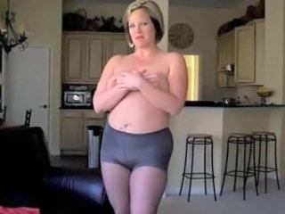 Chubby Kitchen Mom Pantyhose