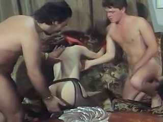 Stockings Threesome Vintage
