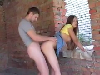 Amateur Clothed Cute Doggystyle Girlfriend Hardcore Outdoor Teen