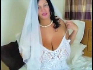 Big Tits Bride MILF Natural