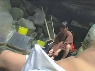 open-air bath(censored)...