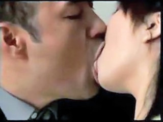 Asian  Japanese Kissing Wife